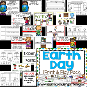 Earth Day Print & Play Pack