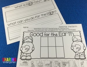 Good for the Earth Printable