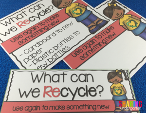 What can we recycle? anchor charts