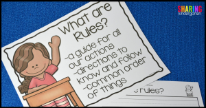What are Rules? Printable