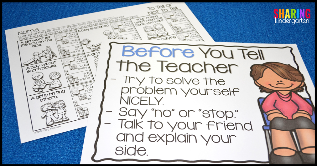 BEFORE You Tell the Teacher... how to teach your class to solve problems first
