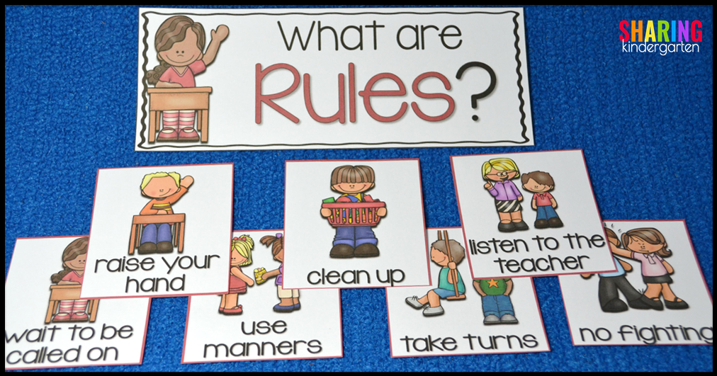 What are Rules? Sorting Activity