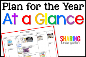 Plan for the Year At a Glance