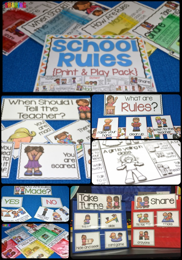 School Rules Pack