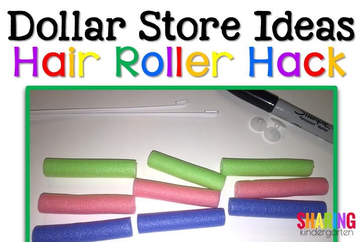 Cut apart hair rollers... what will they become?