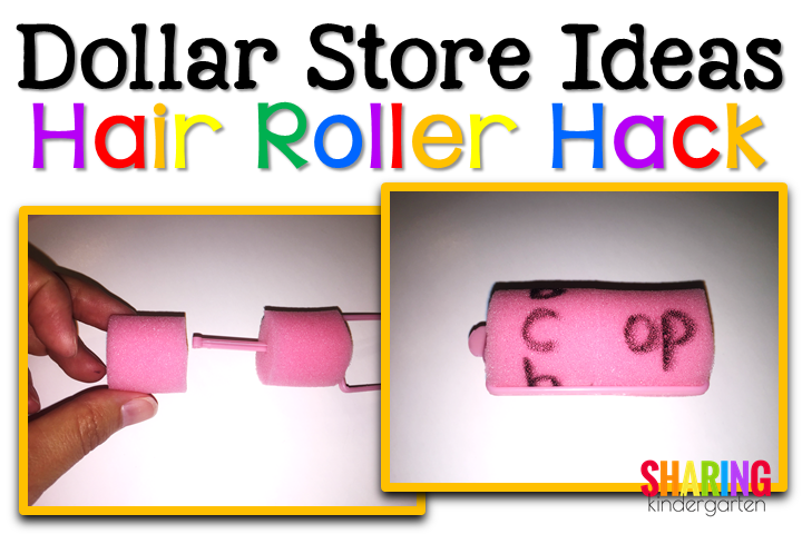 Word Family Hair Rollers!