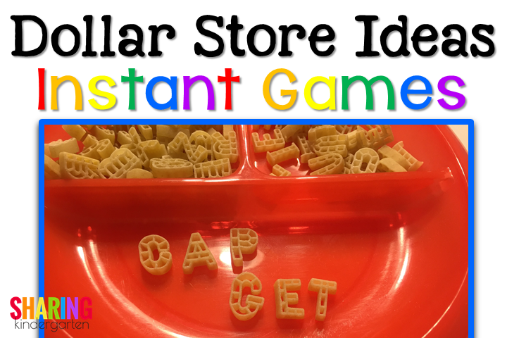 making words with pasta