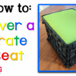 How to Cover a Crate Seat