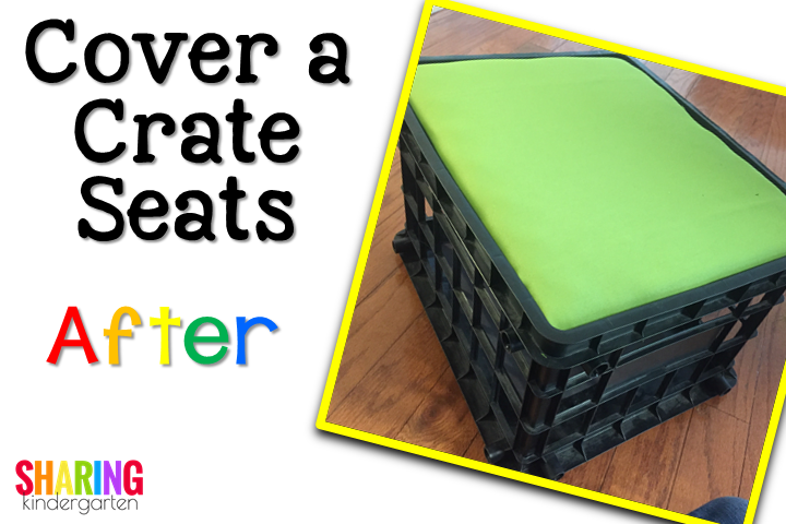 Cover the crate EASILY