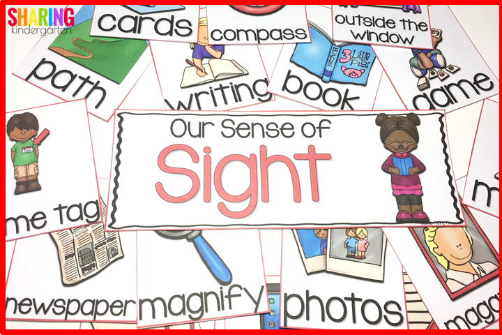 Our sense of sight