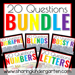 20 Questions Learning Bundle