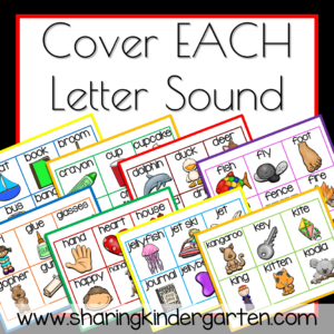 Cover all your letter sounds with this FUN game!