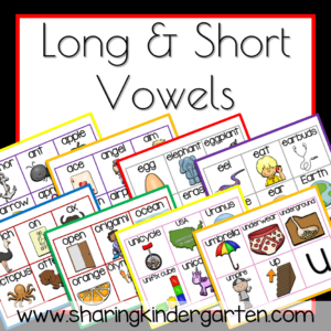 Long and short vowels are here too!