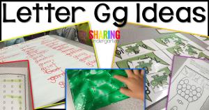 Letter Gg Ideas