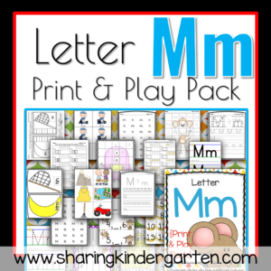 Letter Mm {Print & Play Pack}