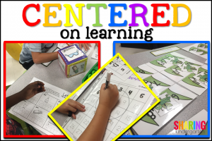 Centered on learning letter Gg activities