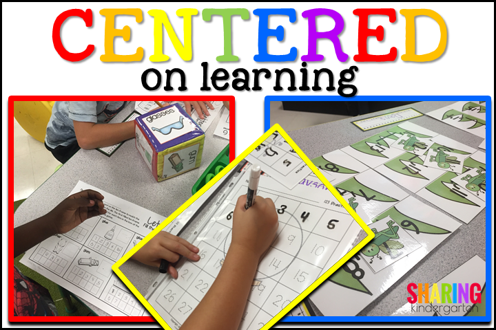 Centered On Learning: The Letter Gg