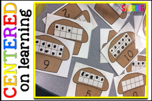 Centered on Learning: Muffin Ten Frames