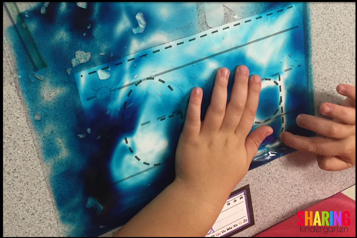 try using gel bags for extra learning fun!