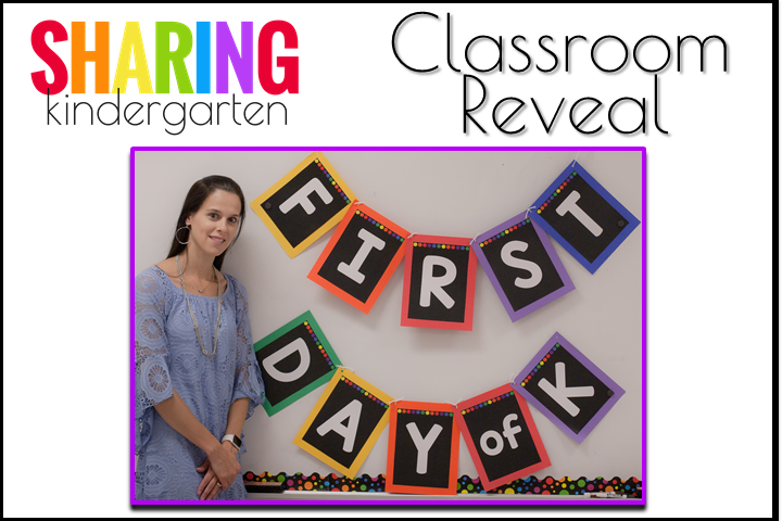 Classroom Reveal 2016 from Sharing Kindergarten