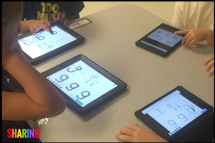 Nearpod phonics activities for the Letter Gg