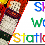 How to Start Sight Word Stations