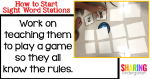 Work on teaching them to play a game so they all know the rules.