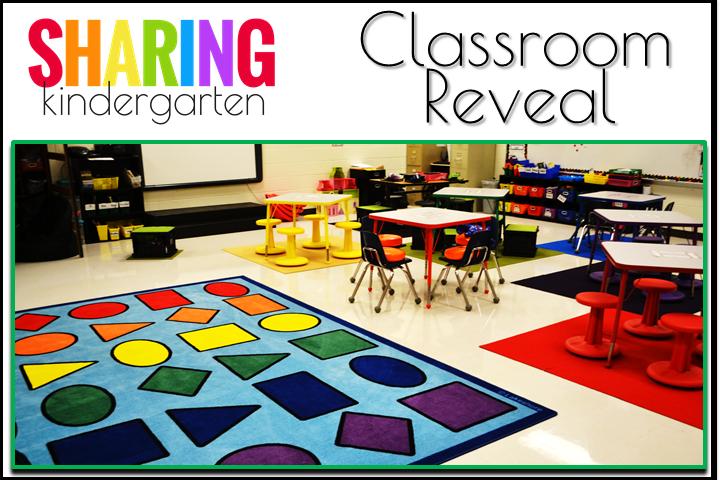 Classroom Reveal from Sharing Kindergarten