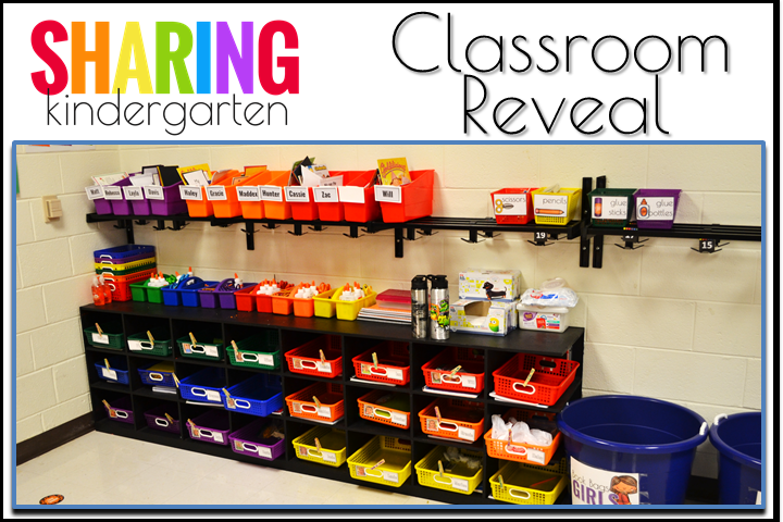 Cubbies and book boxes and more color coding... oh my!