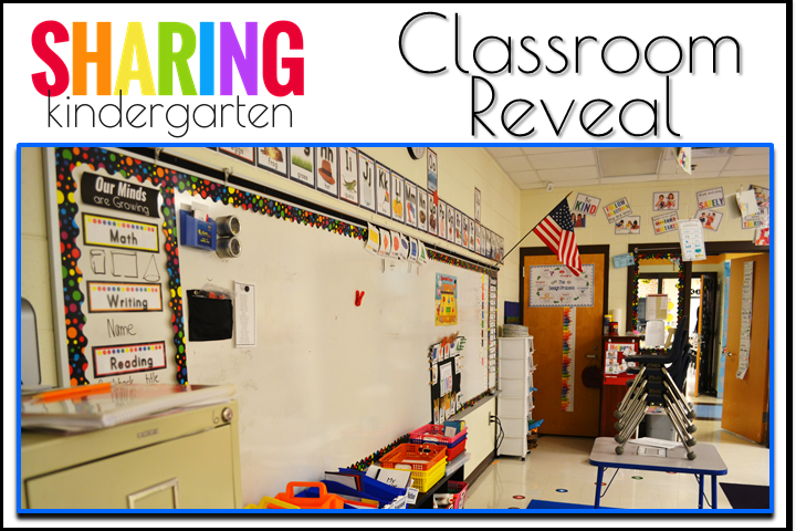 MORE Classroom Reveal from Sharing Kindergarten