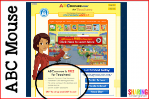 ABC Mouse is FREE for educators