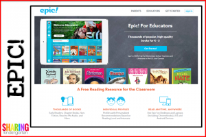 EPIC! is a free digital library for educators too!