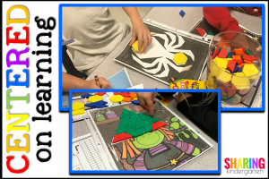 Centered on Learning: Pattern Block Mats