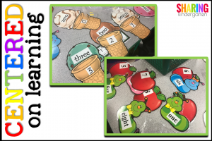 Centered on Learning: number word matching