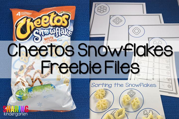 Cheetos Snowflake Freebie File