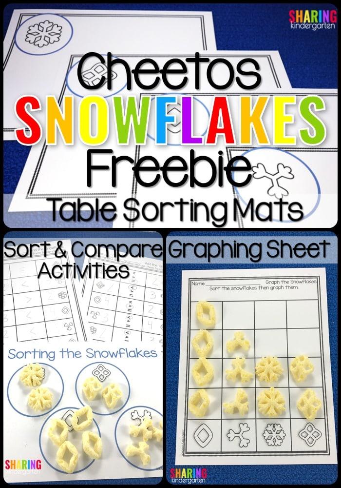 Cheetos Snowflakes Freebie