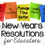 New Years Resolutions for Educators