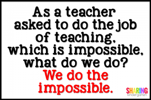 We do the impossible.