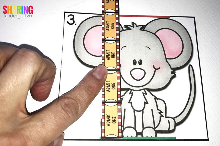 measuring height with If You Give a Mouse a Brownie