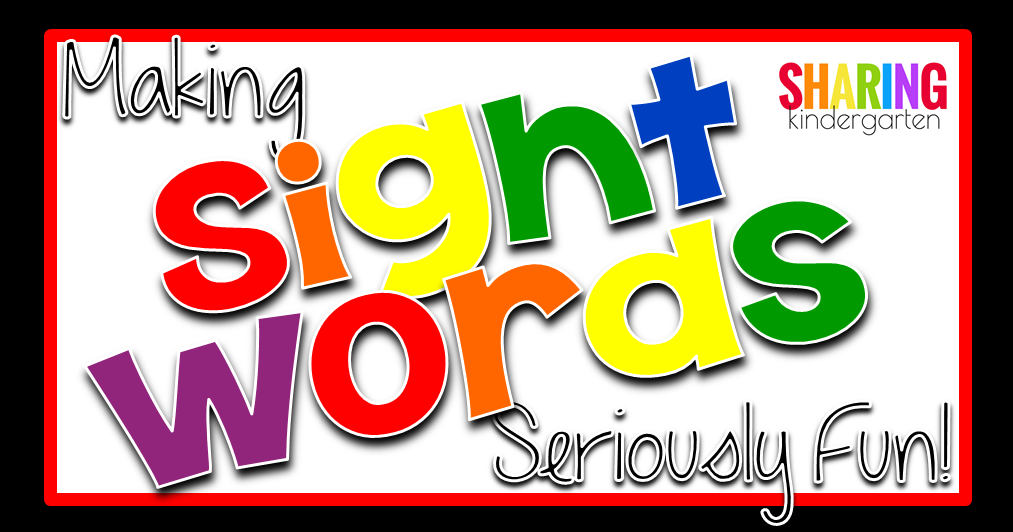 Promote Independent Learning with Sight Words - Sharing