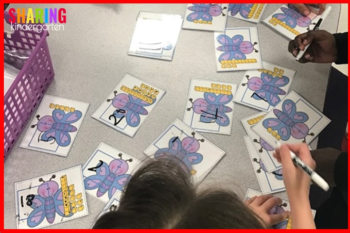 St. Patrick Math Activities: Tens and ones