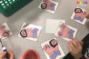 Spring Into Math Fun with this fun activity!