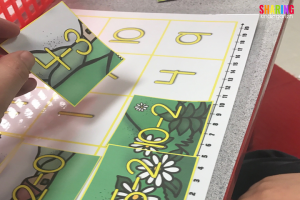 Spring Into Math Fun with spring math puzzles