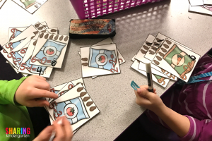 Spring Into Math Fun with subtracting seed packs!