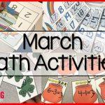 St. Patrick Math Activities