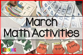 St. Patrick Math Activities