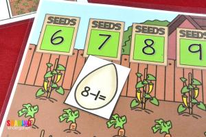 Spring Into Math Fun with this FUN game.