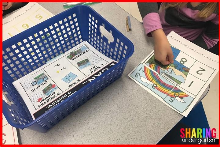 St. Patrick Math Activities: Addition Puzzles