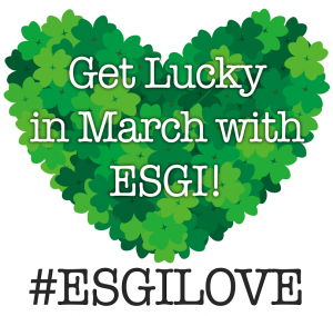 Get Lucky in March with ESGI