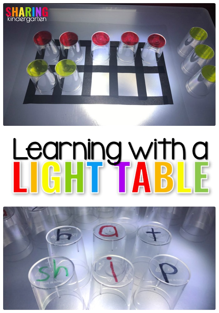 Learning with a Light Table